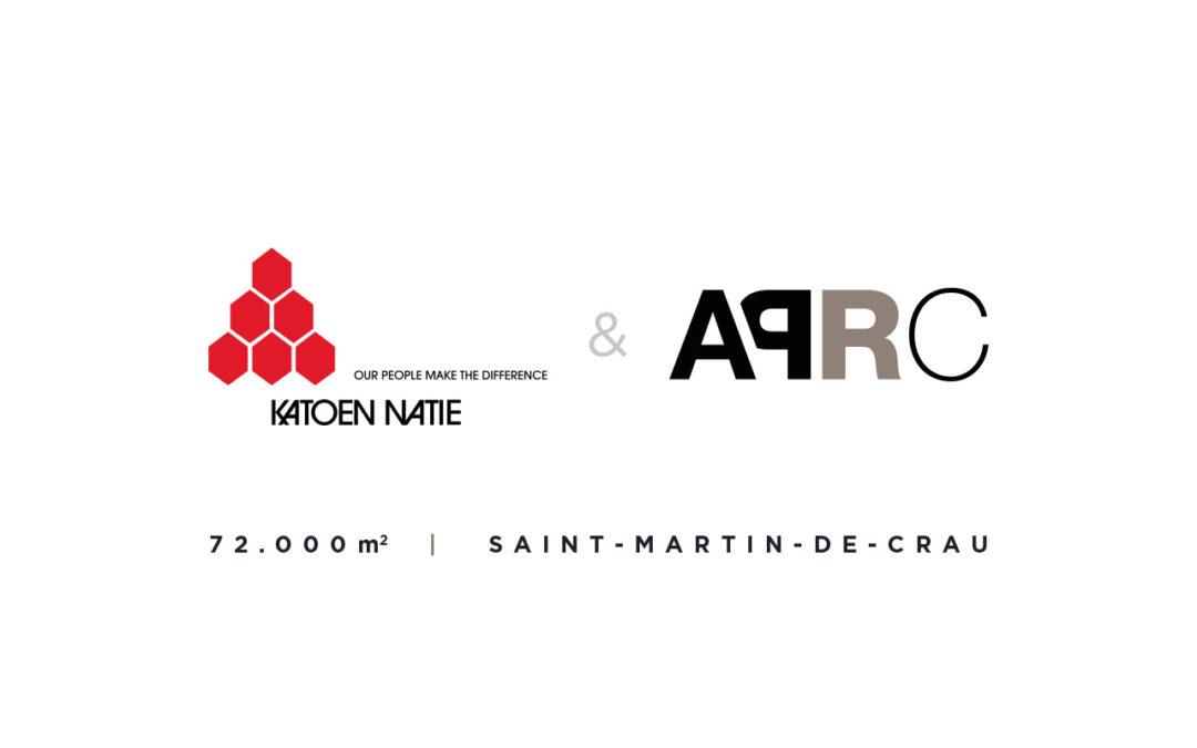 Katoen Natie confie la construction de 72.000m² de bâtiment logistique à APRC