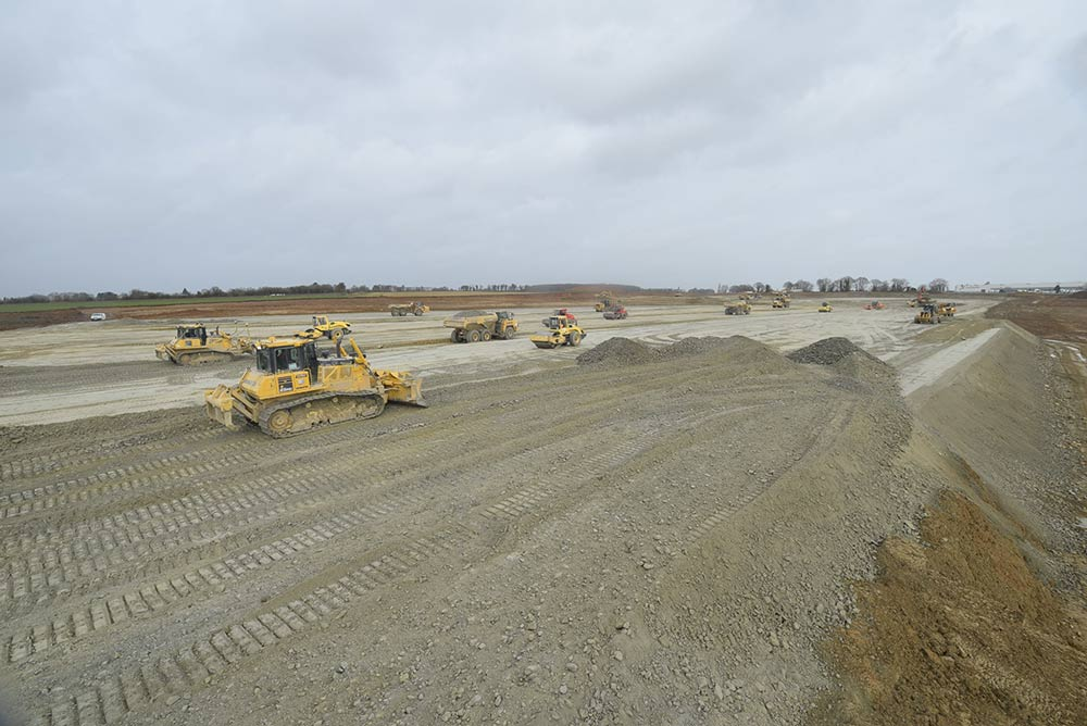 APRC démarre les travaux de la nouvelle base logistique Intermarché à Neulliac (56)