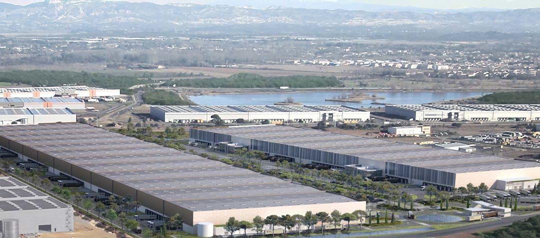 Saint-Martin-de-Crau : APRC construit 72.000 m² pour Logiprest