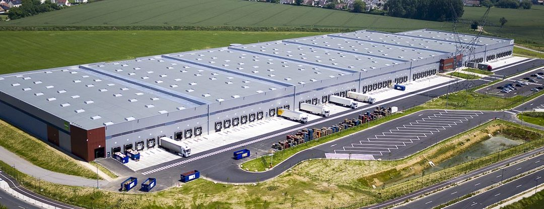 HQE Exceptionnel 12 étoiles pour l'entrepôt Goodman construit par APRC à Saint-Mard (77)