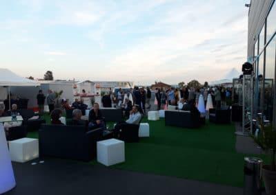 Espace lounge inauguration Audi VW