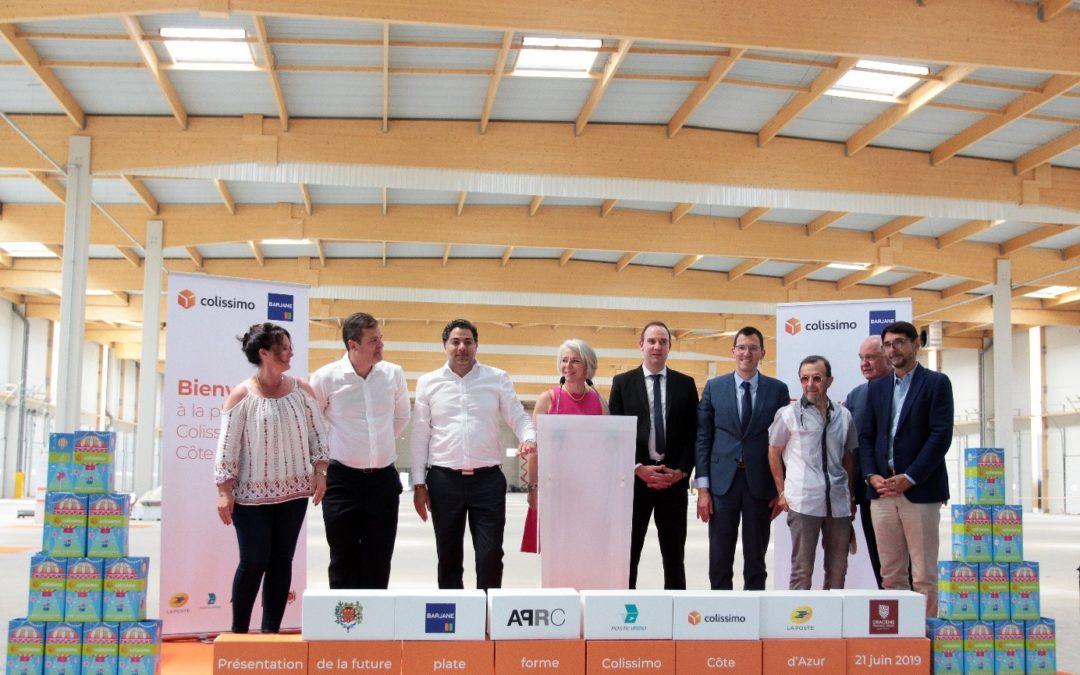 APRC organise le gigot bitume de la future plateforme Colissimo aux Arcs-sur-Argens