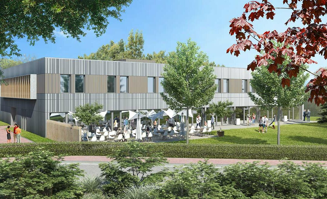 APRC livre à Promoval le bâtiment B0 sur le MINIPARC 2.0 à Dardilly (69)