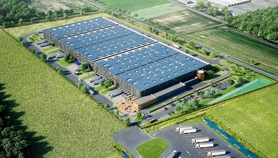 Démarrage de chantier d'un entrepôt logistique de 30.000 m² dans le Grand Est