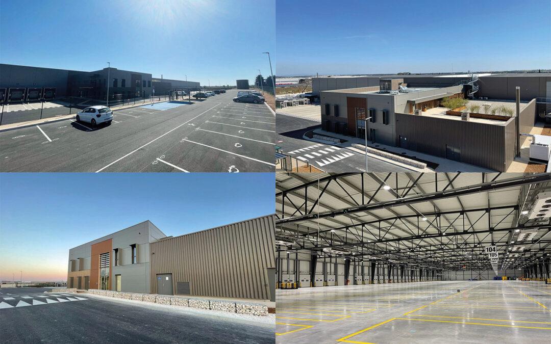 Livraison d'une plateforme logistique innovante de 15.000 m² pour Dentressangle à Saint Gilles (30)