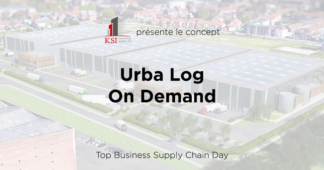 Présentation du concept Urba Log on Demand à la Journée Top Business Supply Chain